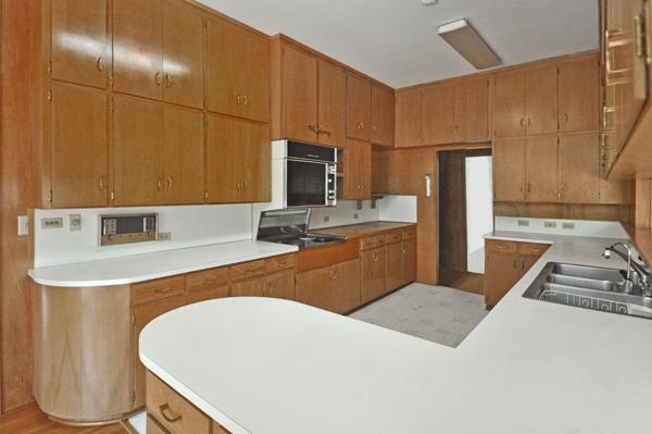 Modern Charlotte - Monroe mid-century modern estate kitchen