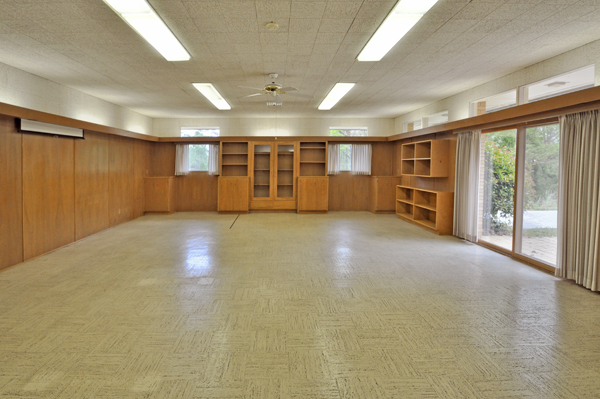 Modern Charlotte - Monroe mid-century modern estate game room