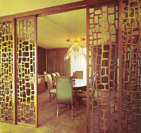 1000 images about dining room on pinterest rooms mid century and better homes and gardens - Decorative partitions room divider ...