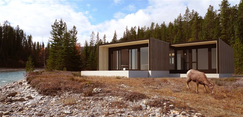 Modern Charlotte - Modern Cabin - Form and Forest1