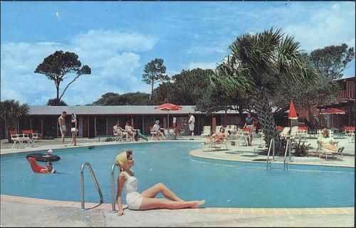 Celebrating The Mid Century Modern Pool Modern Charlotte