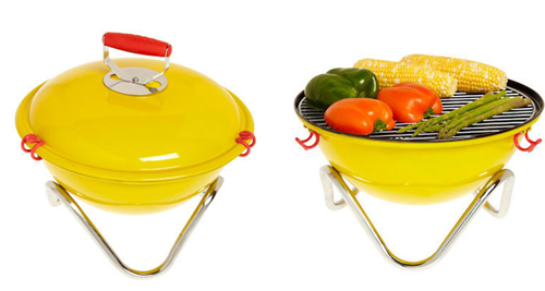 Modern Charlotte - yellow mini grill