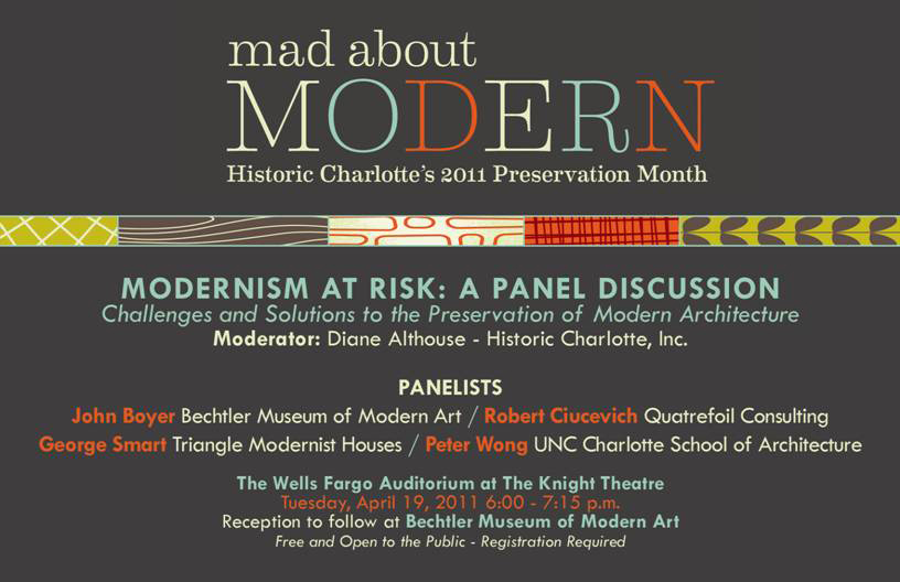 Modern Charlotte - Modernism at risk Charlotte