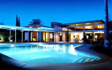 Modern Charlotte - Palm Springs Frank Sinatra Home