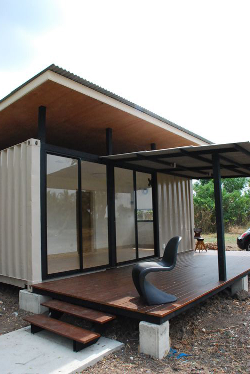 Container homes are popping up everywhere modern for Modern container home designs