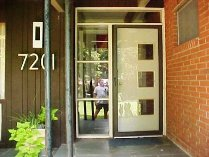 modern charlotte - cool retro door