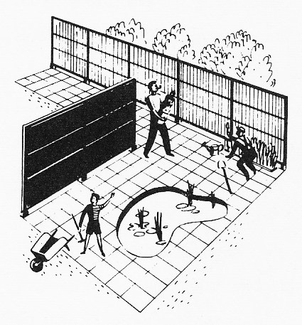 Some Ideas for Midcentury Style Fencing