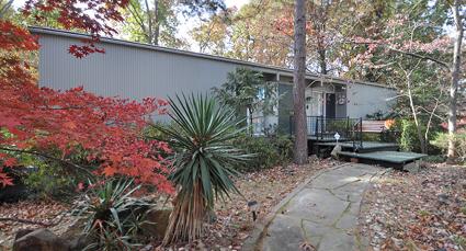 historic mid-century modernist home in mountainbrook