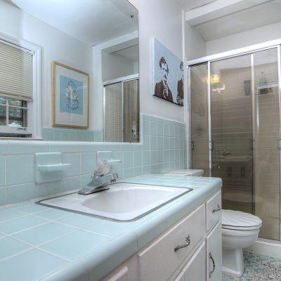 aqua retro master bath