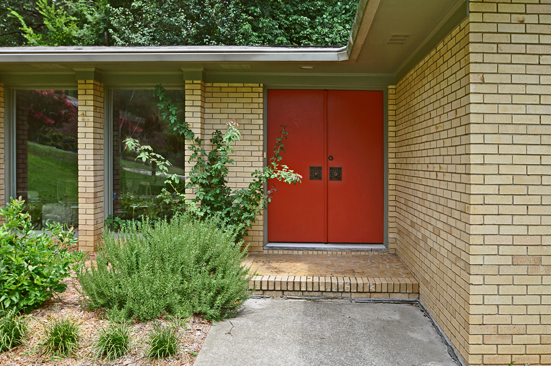 Mid century modern asian style modern charlotte nc for Home entry doors for sale