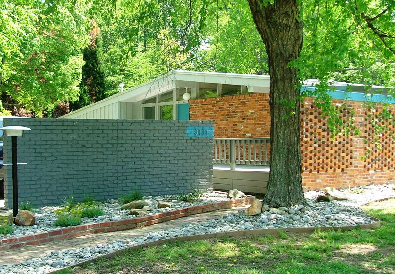 3111 spring valley road modern charlotte nc homes for for Mid century modern real estate