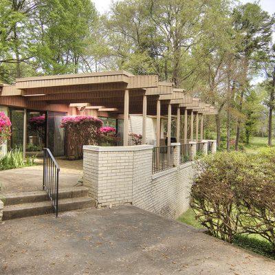 3201 Carmel Rd - Mid-Century Modern Veranda