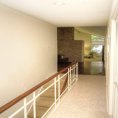 Stair case to lower level