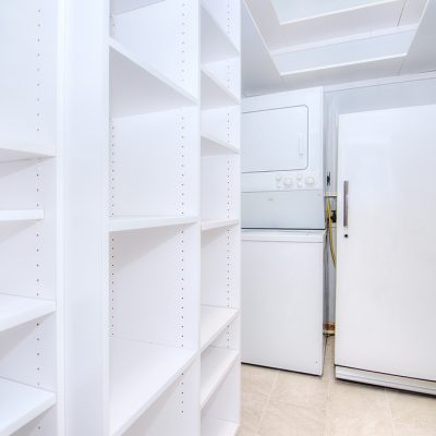 Large Pantry and Laundry Room