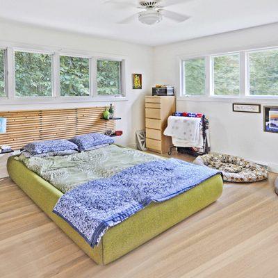 7101 Terrace Dr | mid century modern master bedroom