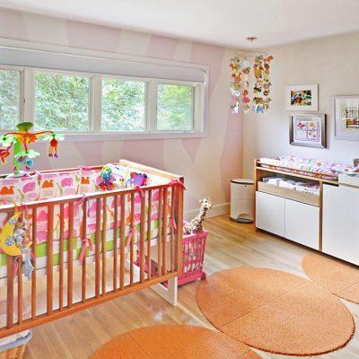 7101 Terrace Dr | mid century modern bedroom