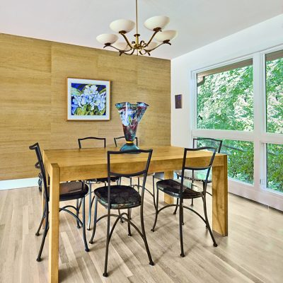 7101 Terrace Dr | mid century modern dining room