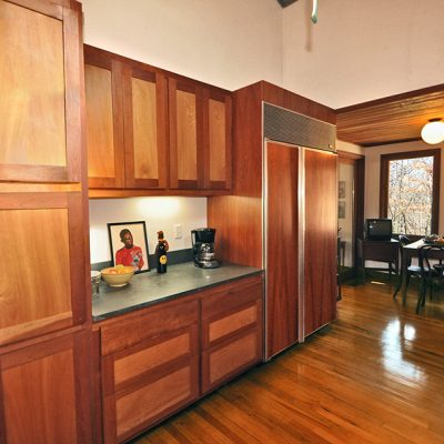 3625 Glenkirk Rd - Kitchen with solid cherry cabinetry