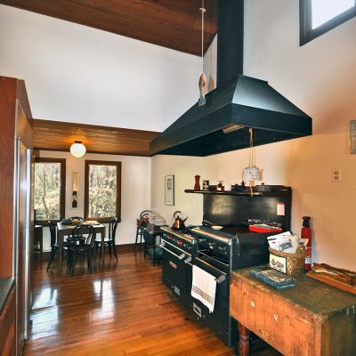 3625 Glenkirk Rd - Kitchen with commercial gas stove