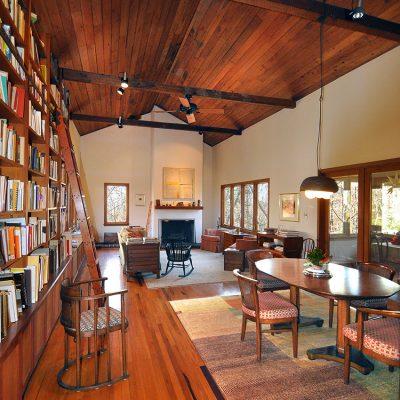3625 Glenkirk Rd - Living Room Vaulted Wood Ceiling