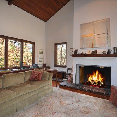 3625 Glenkirk Rd - Living Room Fireplace