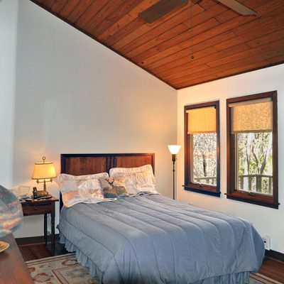 3625 Glenkirk Rd - Master Bedroom with wood vaulted ceiling