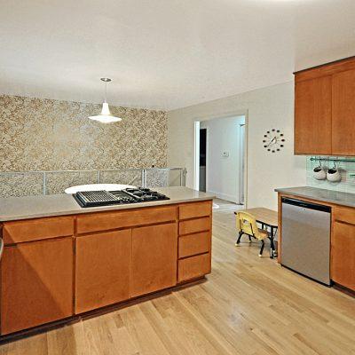 7101 Terrace Dr | mid century modern kitchen