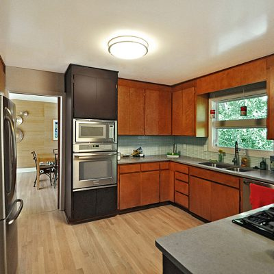 7101 Terrace Dr | mid century modern renovated kitchen