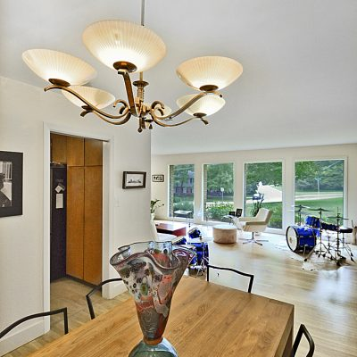 7101 Terrace Dr | mid century modern dining room