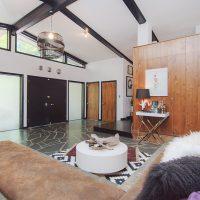 mid-century modern charlotte home
