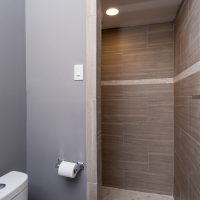 renovated master shower