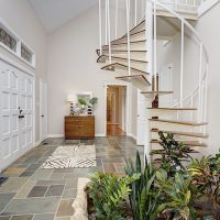 3320 Windbluff Dr | California Contemporary Home | Foyer