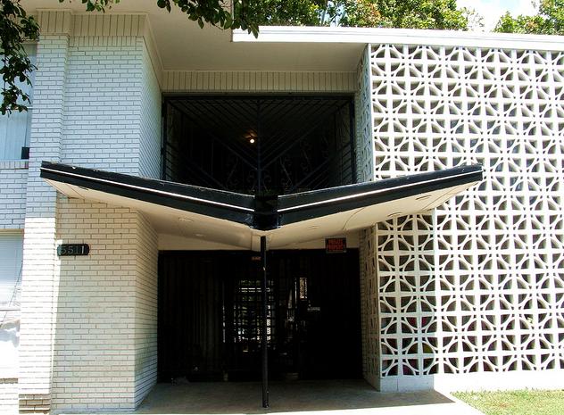 Modern Charlotte Decorative Concrete Blocks Mid Century